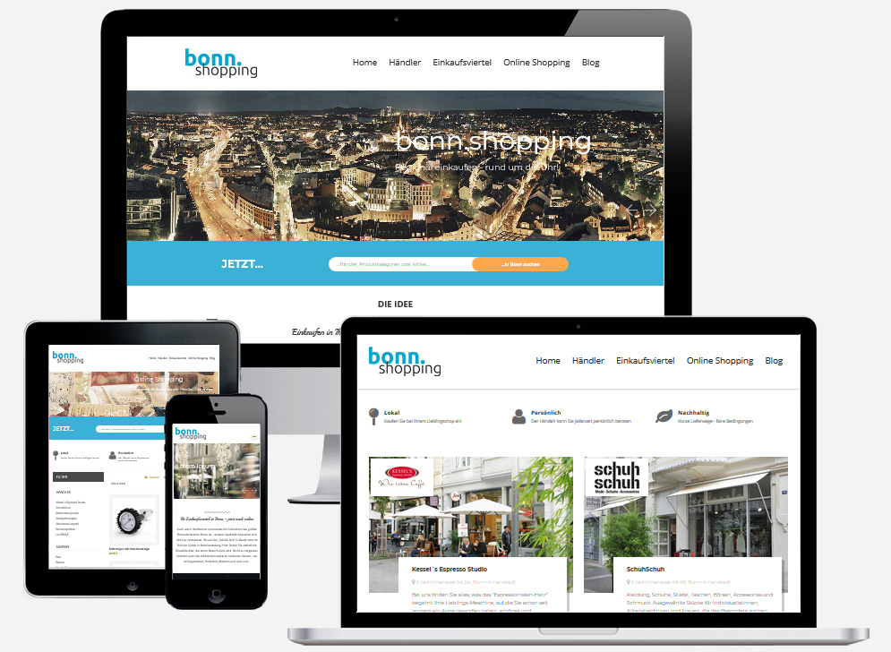 Beta-Version des neuen Bonner Shopping-Portals geht online